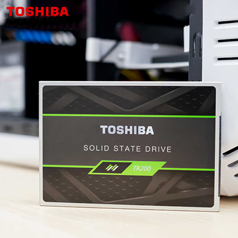 """TOSHIBA TR200 240 GB SSD interno de estado sólido de disco duro SATA 3,2 6 Gb/s 2,5 """"550 MB/S BIC3 3D TLC Flash ordenador portátil de escritorio"""