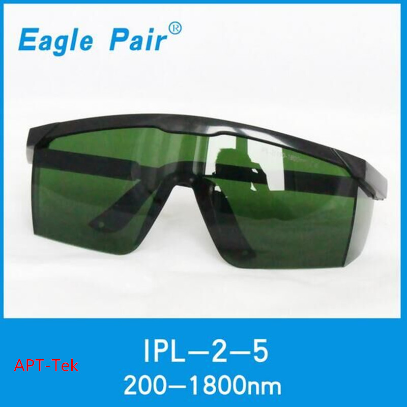 IPL shr e-light operator protection goggles 200-1800nm wavelength for hair removal 1200w strong energy ipl shr supply board