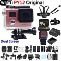 Hero 4 Style PY12 Wifi Action Camera Full HD 1080P Remote Controller Extreme Mini Diving Cam