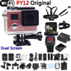 PY12 Wifi Action Camera Full HD 1080P Remote Controller Extreme Mini Diving Cam Sport go waterproof pro camera