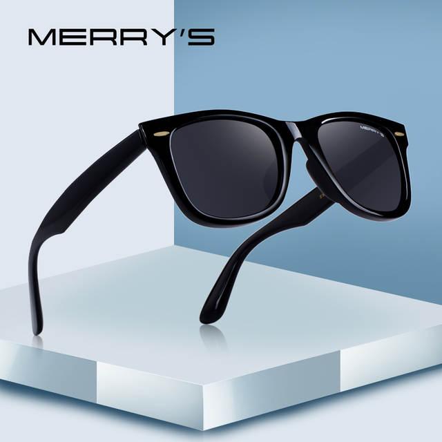 c2bc07085fb Online Shop MERRYS DESIGN Men Women Classic Retro Rivet Polarized Sunglasses  100% UV Protection S8140