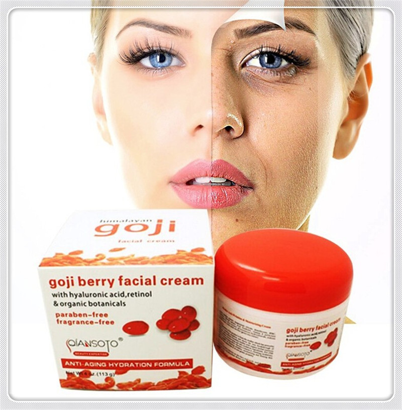 Hyaluronic Acid Original Goji Berry Facial Moisturizing Cream Anti Aging Wrinkle China Wolfberry Medlar Facial Skin goji Cream китайский чай ningxia goji berry fruit health beauty 250g f170