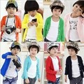 2017 Hot & new Autumn Spring cotton candy-colored cardigan boys girls cardigan children outwear kids baby sweater