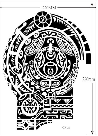 3 sheets Tatuagem Dwayne Johnson Star 3D Big Size Large Temporary Tattoo Stickers for Men Chest and Shoulder Tattoos 1