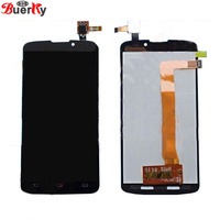 BKparts 5.0 Tested For Philips Xenium V387 LCD Display Touch Screen Glass Digitizer Complete Assembly Replacement