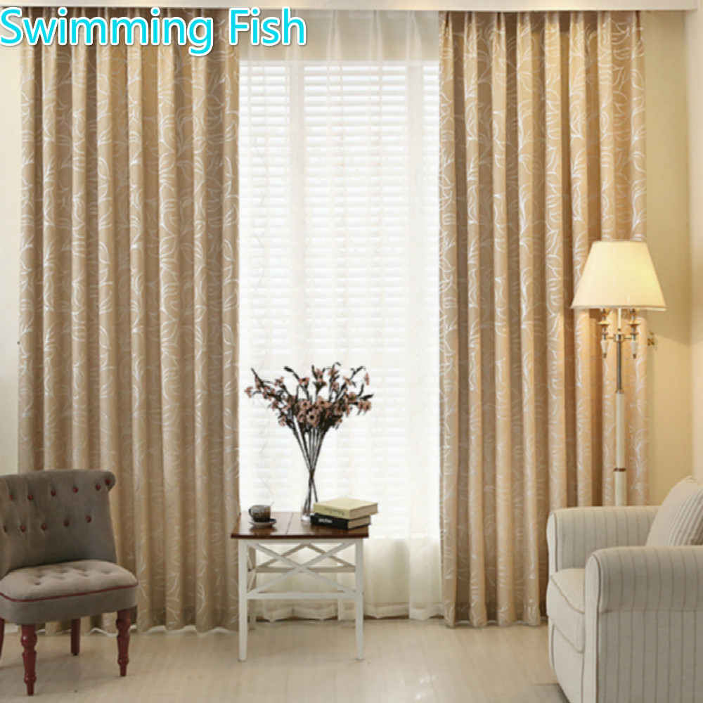 Hot Selling Custom Made Generous Thicking Chenille Silver Jacquard Blackout Curtain Drape For Bedroom Window Blind