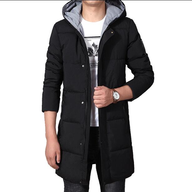 Plus size XL-XXXXXXXL Very good quality long cotton jacket men Parkas 2018 winter new men's padded coat Hooded cotton clothes