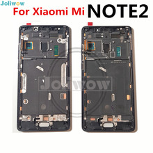 FOR Xiaomi mi note2 note 2 curved screen LCD display 5.7 inch Touch Screen Digitizer Assembly Frame+tools high quality lcd display digitizer touch screen assembly for xiaomi hongmi note2 redmi note 2 black color in stock free tools