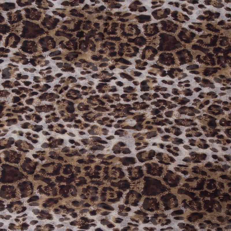 Nueva moda para mujer Súper Suave Ligero Café Leopardo Animal Print - Accesorios para la ropa - foto 3