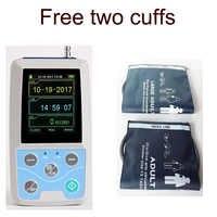 24 時間測定カフ BP モニター NIBP 上腕デジタル Ambluatory 血圧モニター ABPM50 USB ソフトウェア CE FDA 承認
