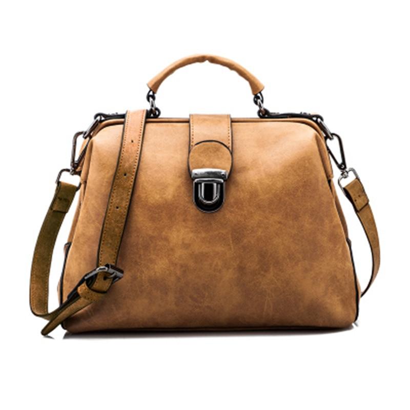 Shunvbasha Famous Brand Designer Docter Crossbody Messenger Bags 2016 High Quality Leather Women Fashion font b