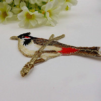 #3813 10PCS/1LOT Embroidered ( Bird ) Sew Iron On Patches Applique Badges~DIY Cloth Accessory