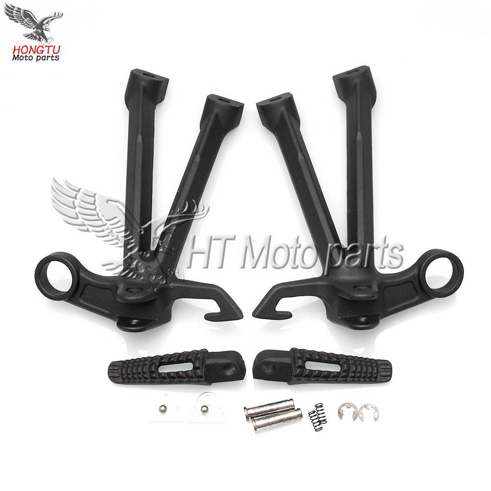 Motorcycle Rear Footrests Foot pegs tripod Pedal stent assembly For Suzuki GSX R 1000 GSXR1000 GSXR