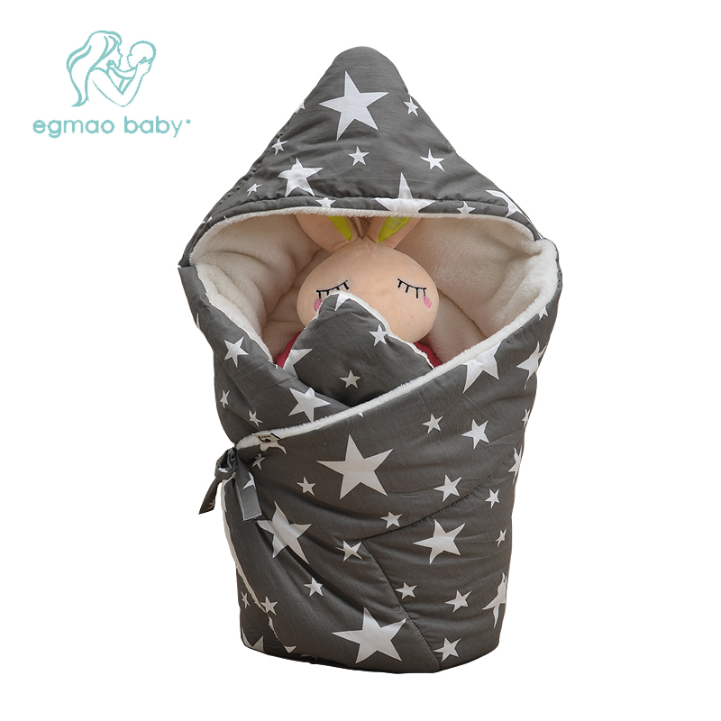 Baby Swaddle 85*85cm Baby Blanket Thick Winter Warm Berber Fleece Envelopes For Newborns Infant Wrap Baby Bedding Sleeping warm baby stroller sleeping bag fleece prams footmuff infant swaddle wrap envelopes for newborns baby blanket 4 colors sleepsack