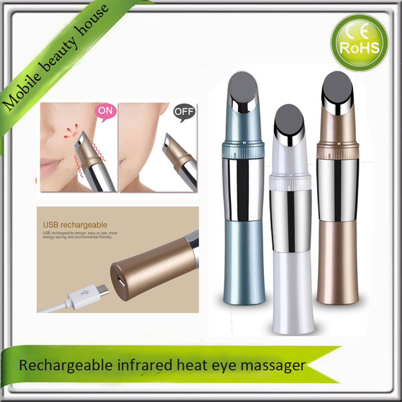 Rechargeable Infrared Warming Ion Face Eye Forehead Wrinkle Spot Remover Skin Firming Moisturizing Facial Toning Beauty Device цена