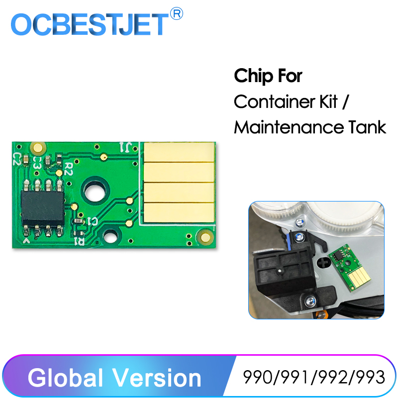 Maintenance Tank Chip For HP PageWide Managed Color MFP 750dw 755dn 774dn 779dn 772dw 785f P77950dns Service Fluid Container Kit