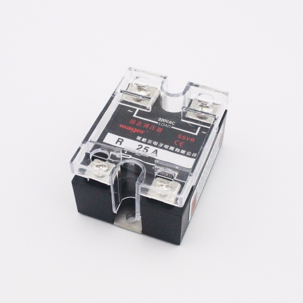 Ac220v 25a 2w 470 560k Ohm Single Phase Ssvr Solid State Relay 220v Ac Voltage Regulator In Relays From Home Improvement On Alibaba Group