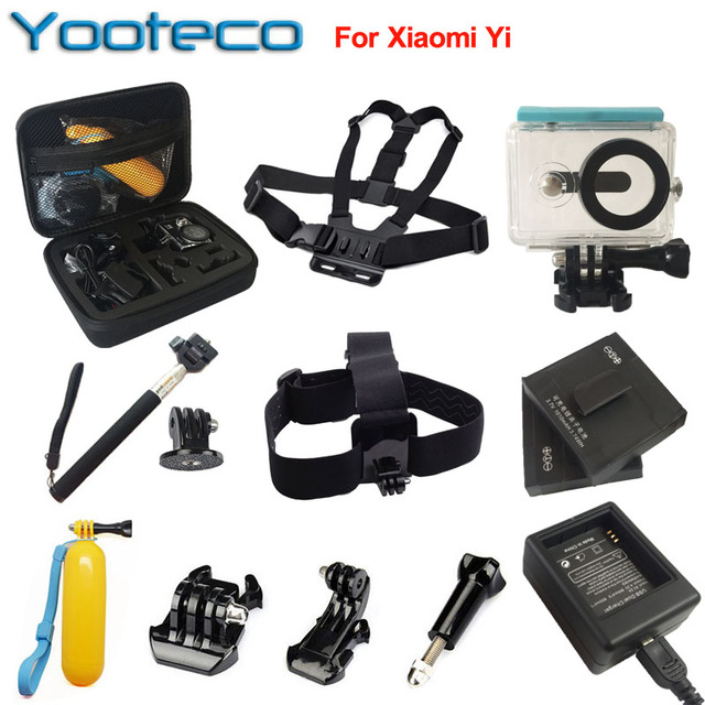 Оригинал Xiaomi yi Спорт Действий Камеры Сяо yi Wi-Fi Yi Xiaoyi Спорт Камеры 16MP Ambarella 60FPS WIFI Bluetooth Водонепроницаемый Д. в. Cam