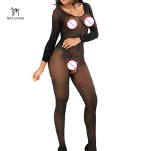 Fashion Rose Floral Sexy Bodystocking Fishnet Sheer Sexy Lingerie Charming Exotric Bodysuits Open Crotch Mesh Body Stockings fashion rose floral sexy bodystocking fishnet sheer sexy lingerie charming exotric bodysuits open crotch mesh body stockings