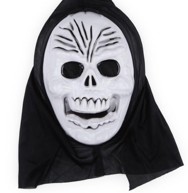 horror party mask volto skull mask kids adults easter halloween christmas thriller terrible scream mask veil hat cos props giftin party masks from home