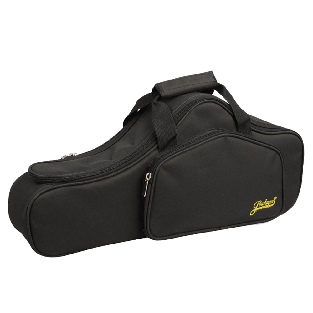New Portable Soft Luxurious E Alto Sax Saxophone Travel Gig Bag Case Cover Gray Black Waterproof