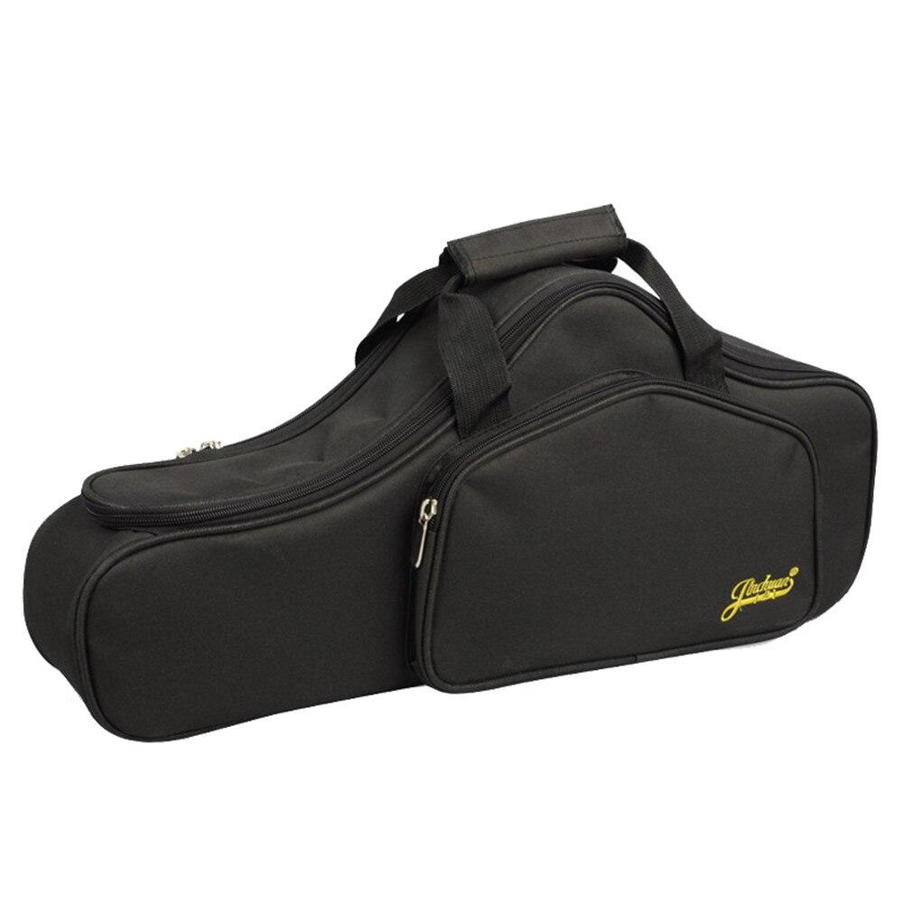 Nuevo portátil suave de lujo E Alto saxofón de viaje Gig bolsa funda cubierta gris negro resistente al agua de alta calidad-in Bolsas y estuches para instrumentos from Maletas y bolsas    1