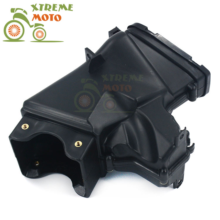 Motorcycle Air Intake Tube Duct Cover Fairing For KAWASAKI ZX636 ZX-6R 2013 2014 2013-2014 13 14 engine case alternator generator stator guard cover for kawasaki zx6r zx 6r zx636 zx 6r 636 2013 2014 2015 2016