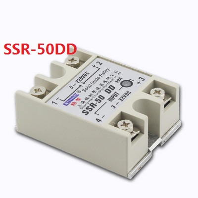 solid state relay DC control DC SSR 50DD 50A SSR relay input 5 60V