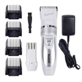 KM-6688 hair clipper 220V + Extra Battery professional electric shaving machine barber hair trimmer cutting beard