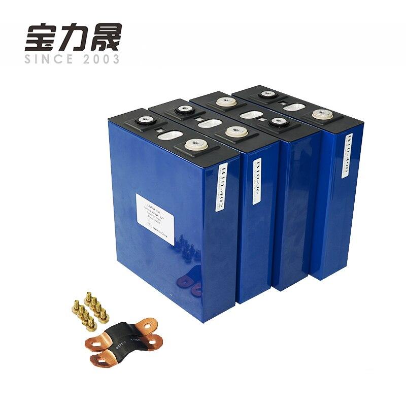 3.2V 190Ah Lifepo4 Battery LFP Lithium Solar 4S 12v200ah  Cells Not 180Ah 100Ah 150AH For Pack EV Marine RV Golf EU TAX FREE