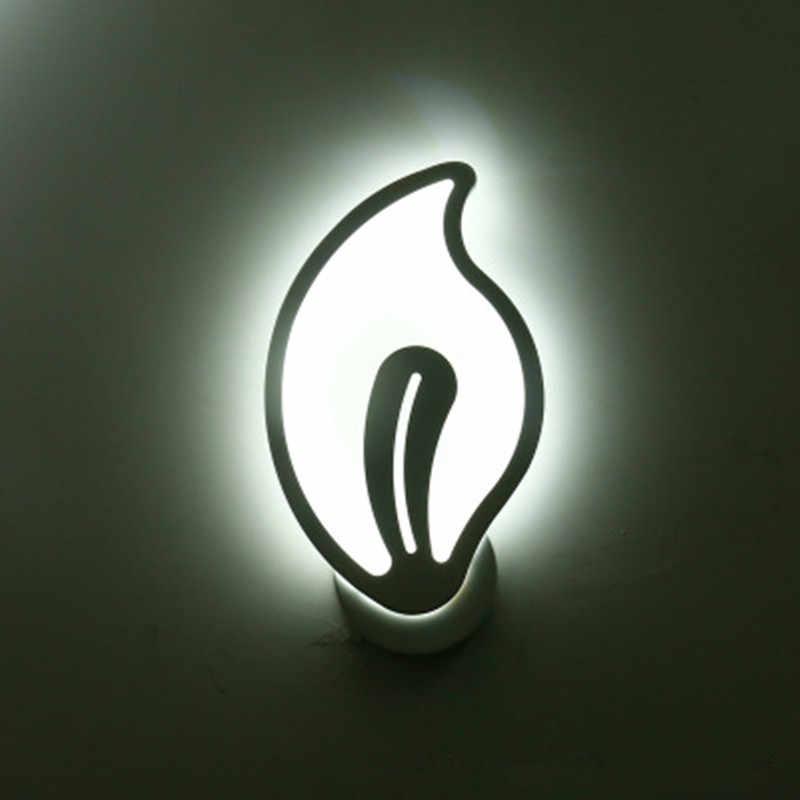 LED Wall Lamp lampada Bedroom Wall Side Home Interior Decoration Lighting Corridor Wall Lamp  AC90-260V