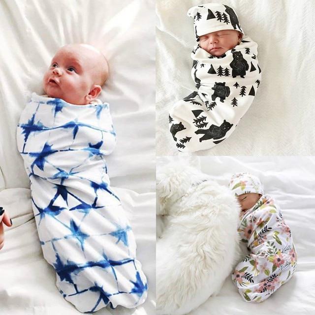 d0f636a1bd51 MUQGEW Baby Swaddling Blanket Sleep Bags Newborn Baby Boy Cocoon ...