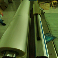 40x250cm/pc transparent ITO film ITO Coated PET Film For Electroluminescent Product/Solar panel