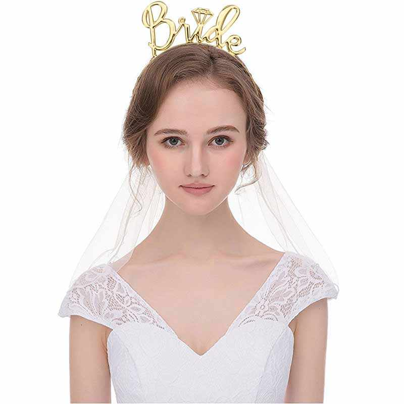 Bride to Be Tiara Crown Hair Accessories for Bachelorette Hen Party Wedding Engagement Bridal Shower team bride Decoration Gift