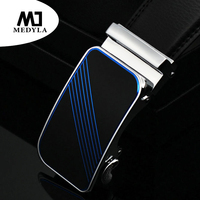 Good Mens Belt Luxury High Quality Cow Genuine Leather Belts For Men Automatic Buckle Fashion Waist