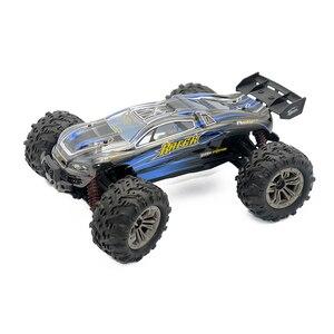 Image 2 - RC Auto elettrica 1/16 4WD 4x4 2.4 GHz di Guida Auto Auto Bigfoot Auto Telecomando Modello di Auto di Alta  velocità Off Road Del Veicolo Giocattoli Per Bambini