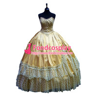 Victorian Rococo Medieval Gown Ball Dress Gothic Evening Dress Cosplay Costume Tailor made[G1088]