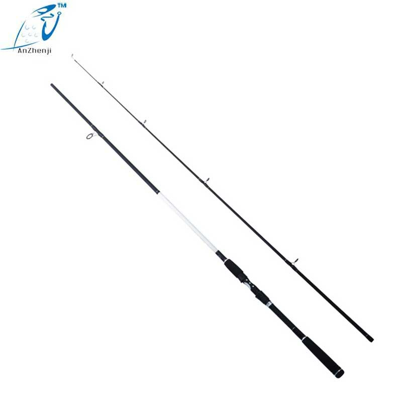 2018 New Super Hard Two Section 2.7 M 100-150g Straight Lure Fishing Rod MH Tune Ultra-light Sea Peche Big Fish Pole Lake River 2018 new super hard 19 tune carbon fishing rod for big fish crap ultralight taiwan rod 3 6 m 8 1 m telescopic pole