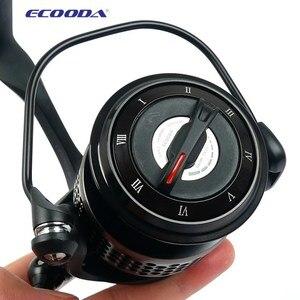 Image 5 - Бесплатная доставка, металлическая катушка ECOODA Black hawk EBH II 1500 5000 второго поколения для спиннинга, Рыболовная катушка 11Bear