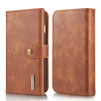 For IPhone X 6 6S 7 8 Case Vintage Flip Leather Wallet Shell 3 Folded Card