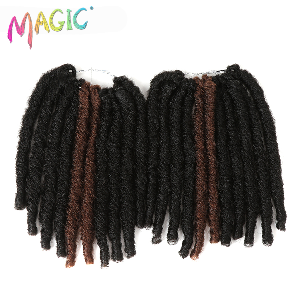 Faux Locs Crochet Braids Hair Synthetic Braiding Fiber