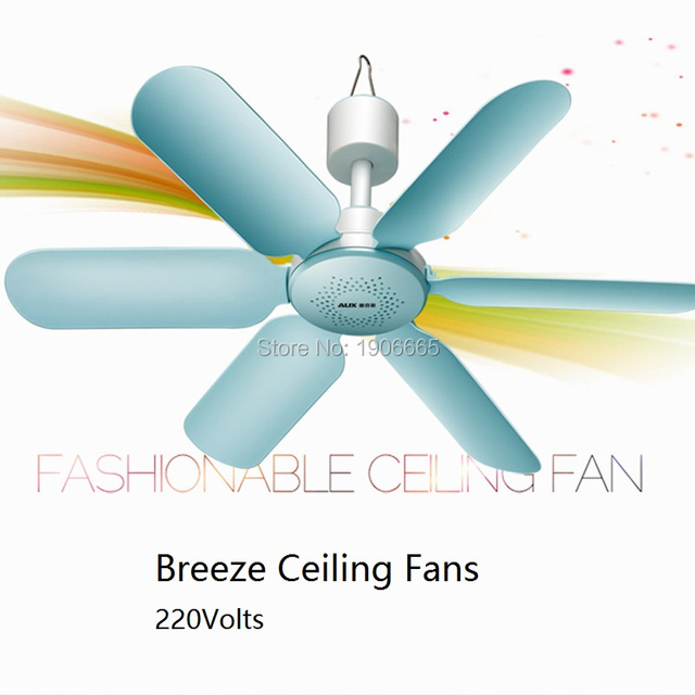 Nets Breeze Ceiling Mini Fan Energy Saving Home Use Micro Electric Hanging Sleep Bed