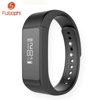 Bluetooth 4.0 Akıllı Bilezik TPU IP67 Su Geçirmez Dokunmatik Ekran Spor Tracker Sağlık Bileklik Uyku Monitör i5 Artı Akıllı Izle