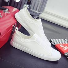 fedad4b27 الأبيض الصغير أحذية الرجال النسخة الكورية 2018 جديد الربيع والخريف مئات من  كسول الناس ركوب الصيف