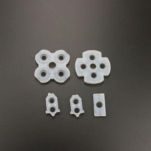 Image 4 - 100 Set voor Sony Playstation 4 PS4 Controller Geleidende Siliconen Rubber Pads voor Dualshock 4 Knoppen Reparatie Vervanging Deel