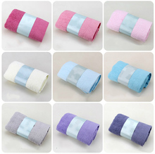 34X75cm Soft Elegant Cotton Terry Hand Towels,Face Bathroom Towels,Bulk Embroidered Towels,Toallas de Mano High Qualit
