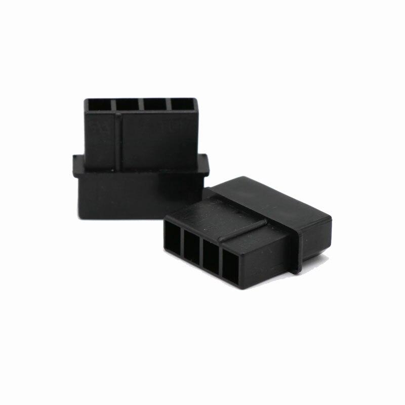 Angitu  5.08mm 4Pin Male Molex Power Housing Connector 10pcs/lot