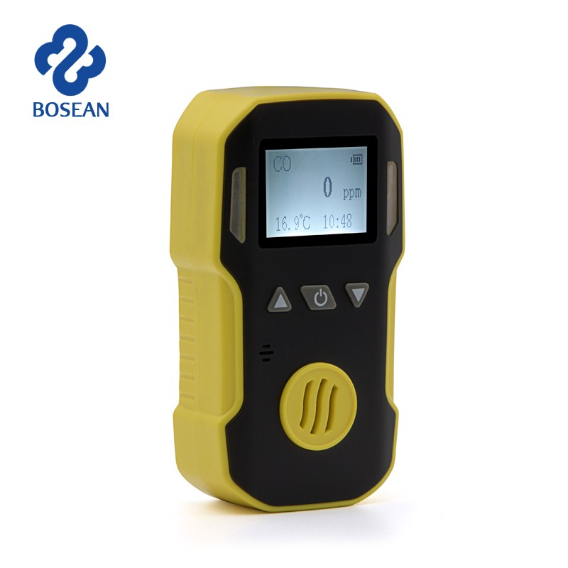 Hydrogen sulfide H2S Gas Detector Gas Leak Detector H2S Monitor with Sound+Light+Shock Alarm Professional Gas Sensor