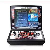 19 inch LCD Mini table top arcade with Pandora's Box 6 / sanwa joystick/sanwa button/bartop arcade machine