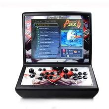 19 inch LCD Mini table top arcade with Pandora's Box 6 / sanwa joystick/sanwa button/bartop arcade machine цена и фото
